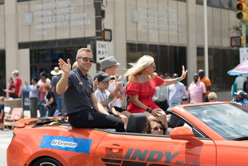 Parade 2018 Indy 500 lizenzfreie stockfotografie