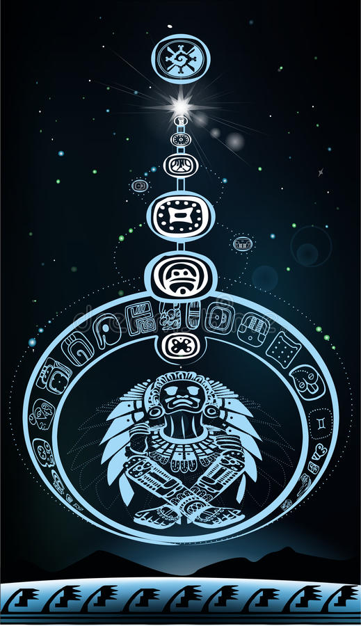 Download Parade Of Planets With Indian God Stock Illustration - Image: 28339854