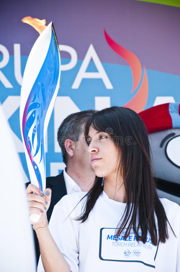 Parade Of The World Youth, Istanbul, Turkey Editorial Stock Image