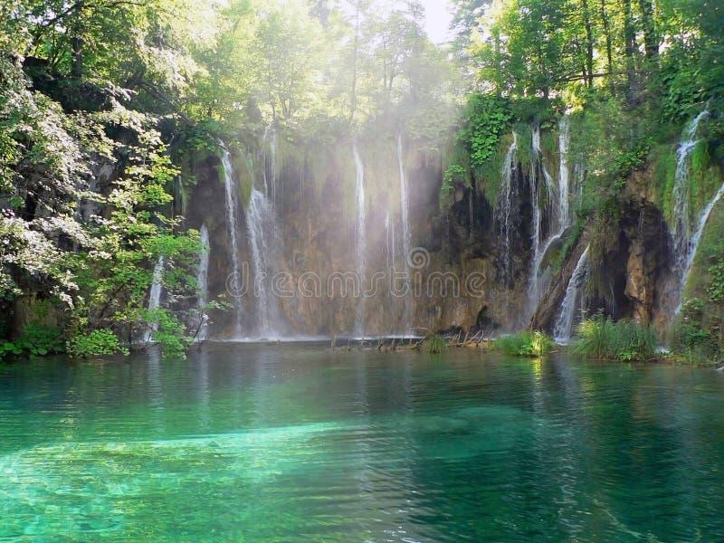 Paradies auf Erde stockbild