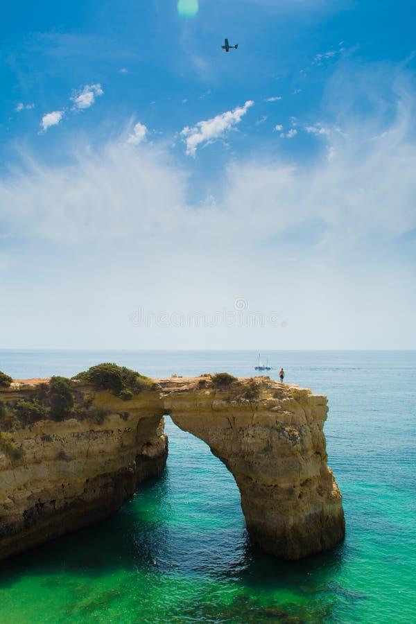 Paradies bei Algarve stockfotos