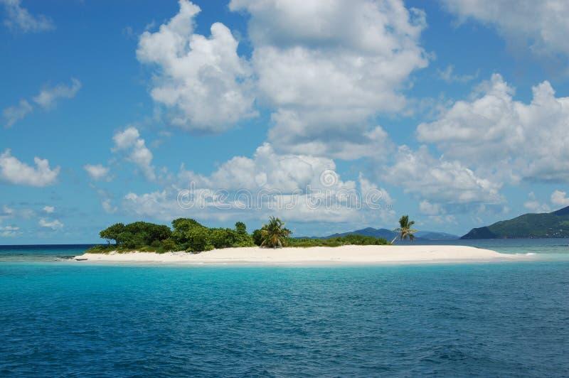 Paradies-Insel Stockfoto