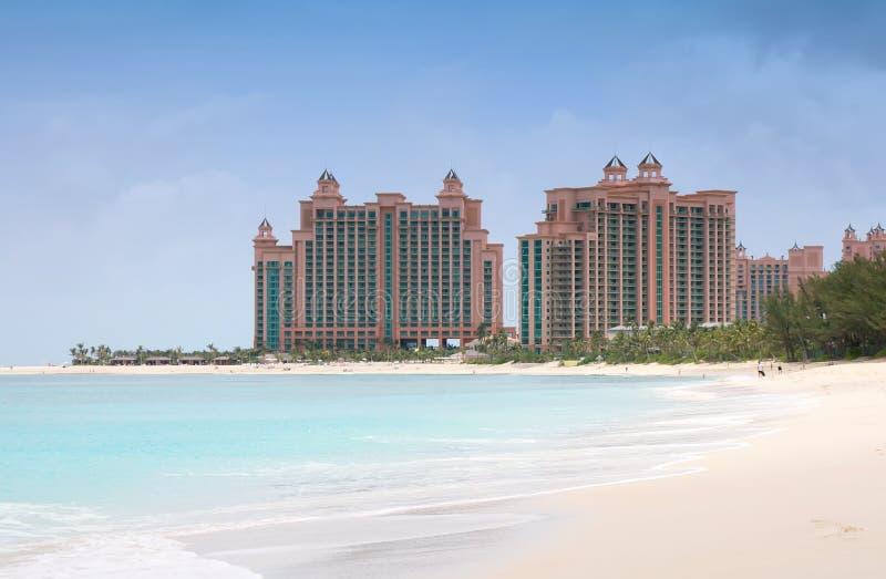 Paradies-Insel, Bahamas stockfotografie