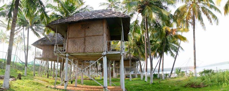 Paradies in Kerala stockfotos