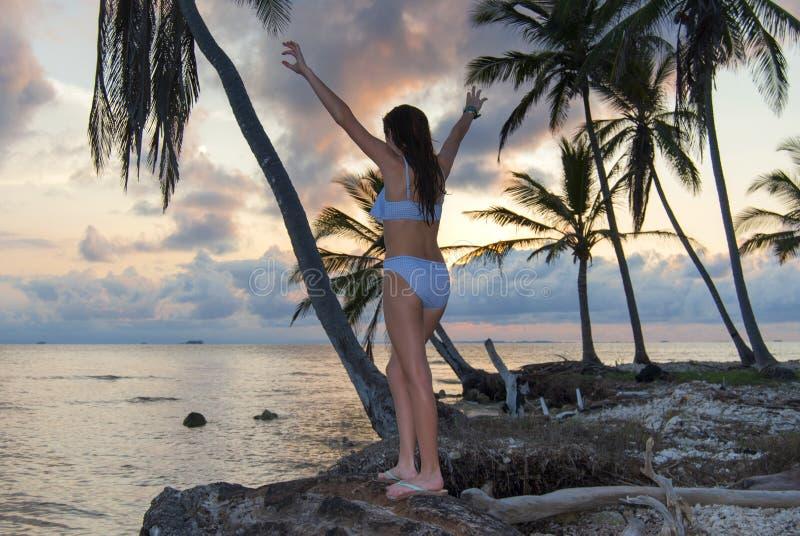 paradies Sonnenuntergang SONNENAUFGANG lizenzfreies stockfoto