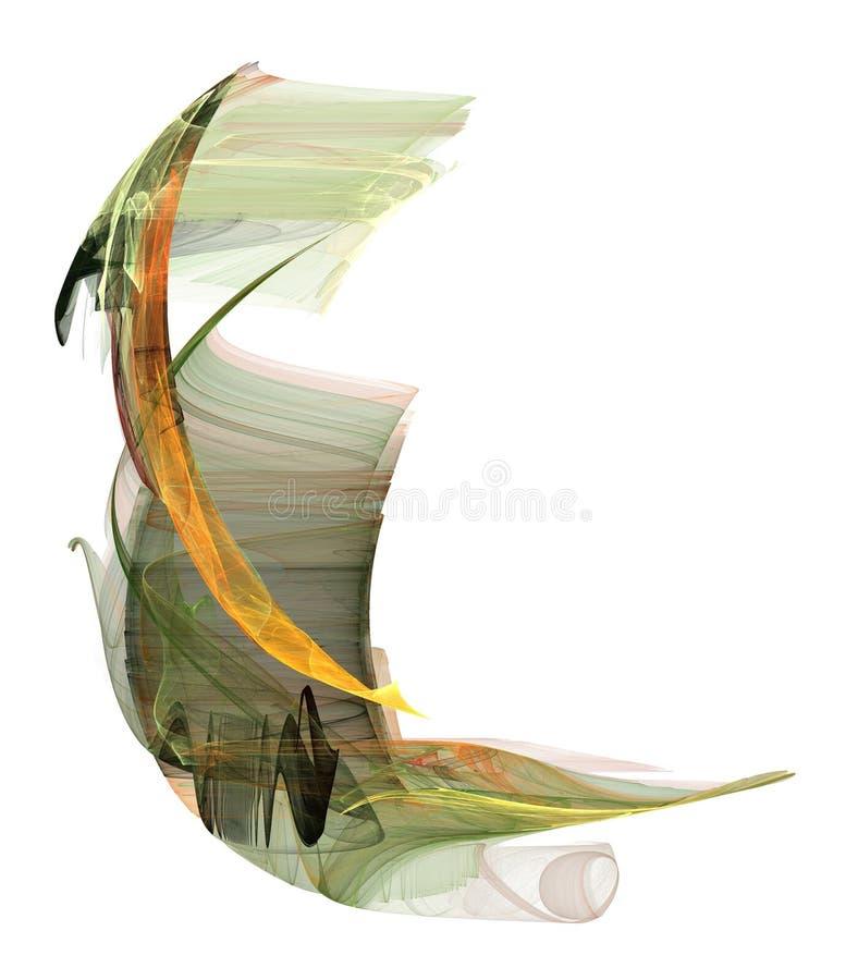 Paradiesvogel Gestaltungsarbeit lizenzfreie abbildung