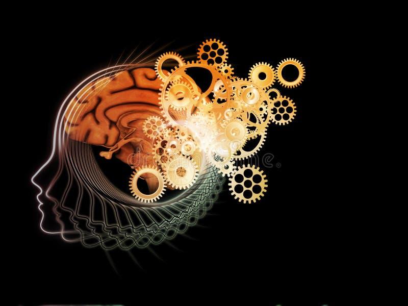 Paradigm of the Mind vector illustration