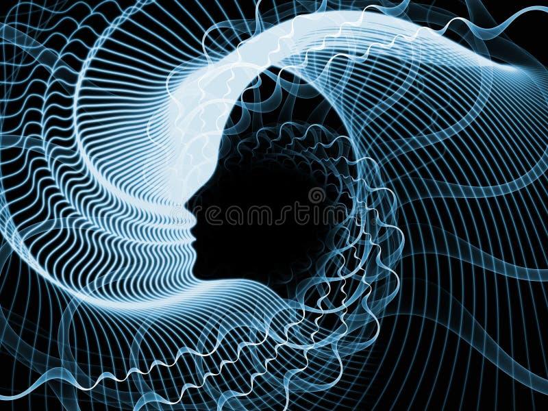 Paradigma del alma y de la mente libre illustration