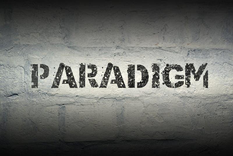 Paradigmawort GR lizenzfreie stockfotos