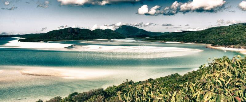 Paradijs van het Nationale Park van Pinkstereneilanden royalty-vrije stock afbeelding