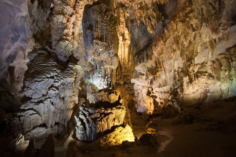 Paradijshol, Unesco-de plaats van de werelderfenis royalty-vrije stock afbeelding