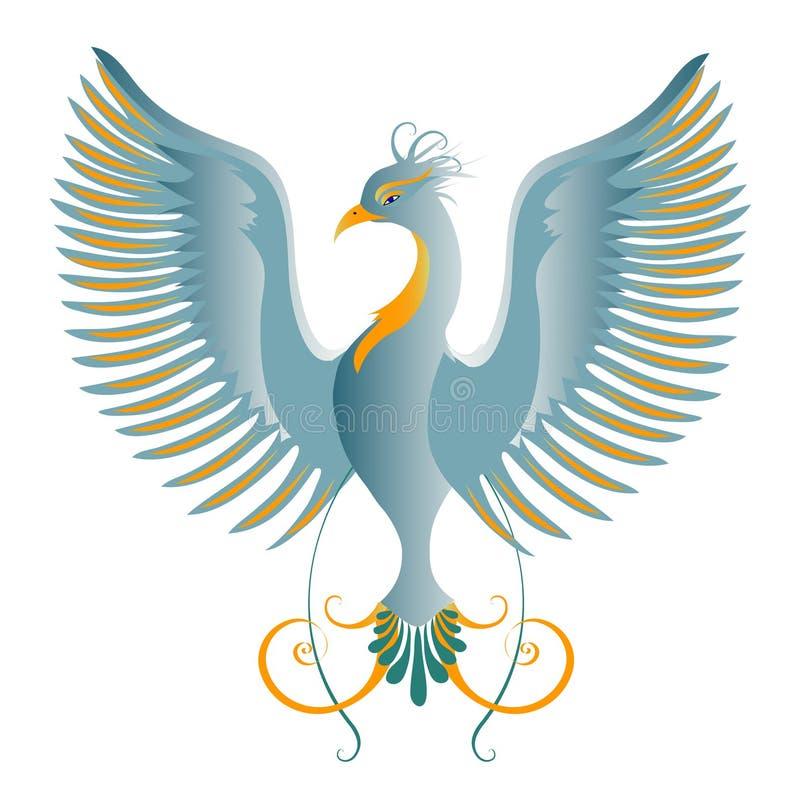 Paradijsvogel vector illustratie