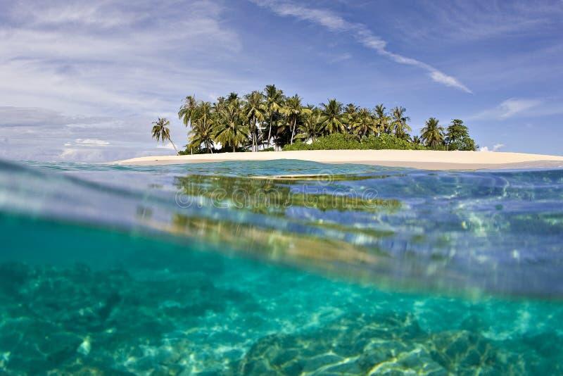Paradis d'île image libre de droits