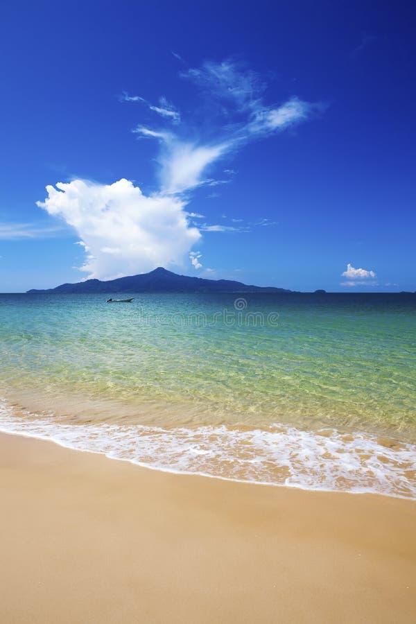Paradis d'île de Pulau Tinggi. photo libre de droits