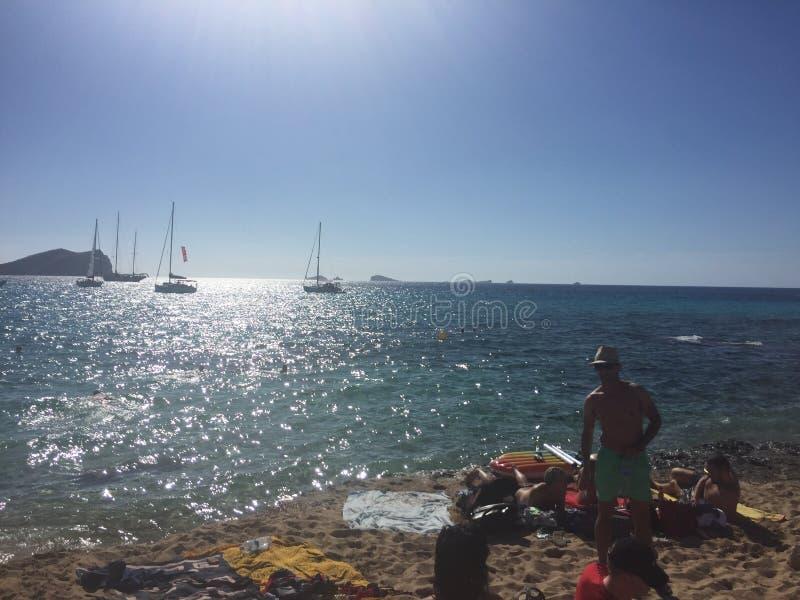Paradis d'Ibiza photographie stock