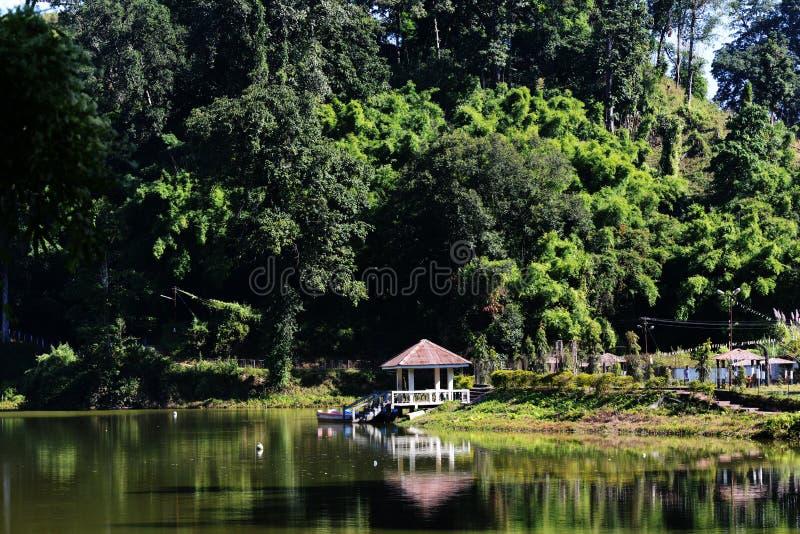 Paradis de lac d'Arunachal Pradesh photos libres de droits