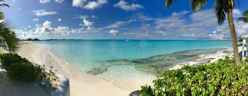 Paradis en Bahamas photos libres de droits