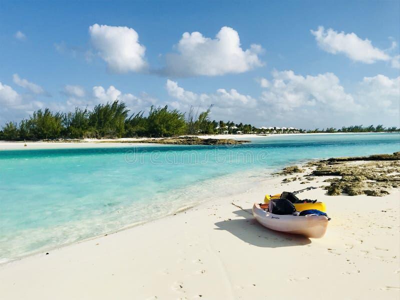 Paradis en Bahamas images stock