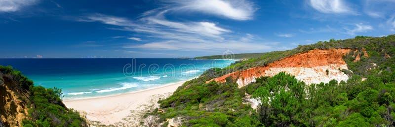 Paradis panoramique photographie stock