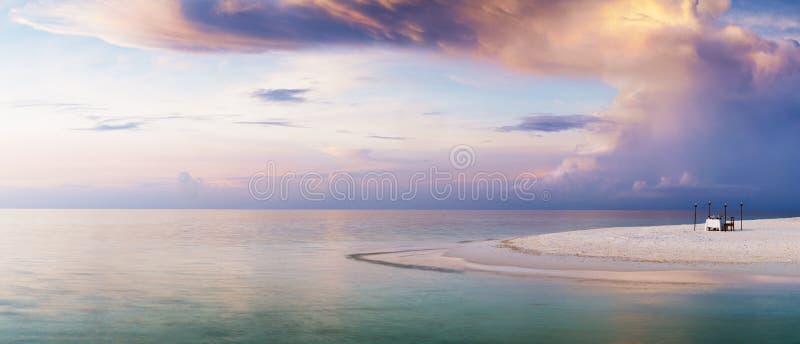 Paradis pour deux photos libres de droits