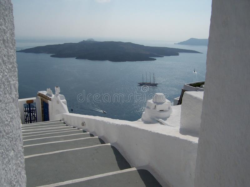 Paradis Santorini Grèce image libre de droits