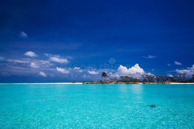 Paradis tropical d'île photographie stock