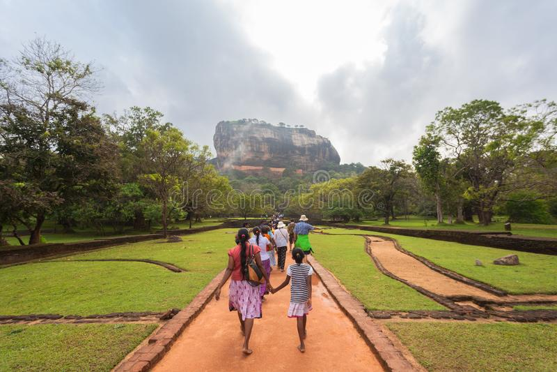 Paradis vert dans Sri Lanka photo libre de droits