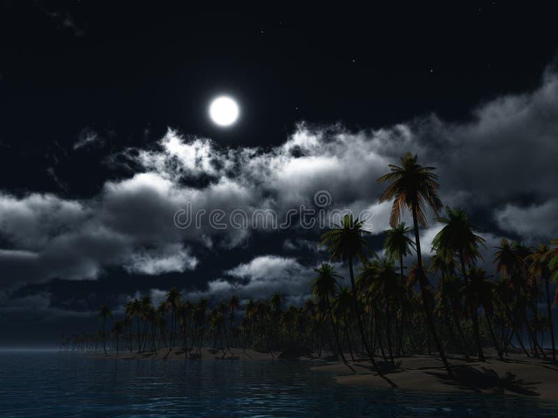 Paradise 1 stock illustration
