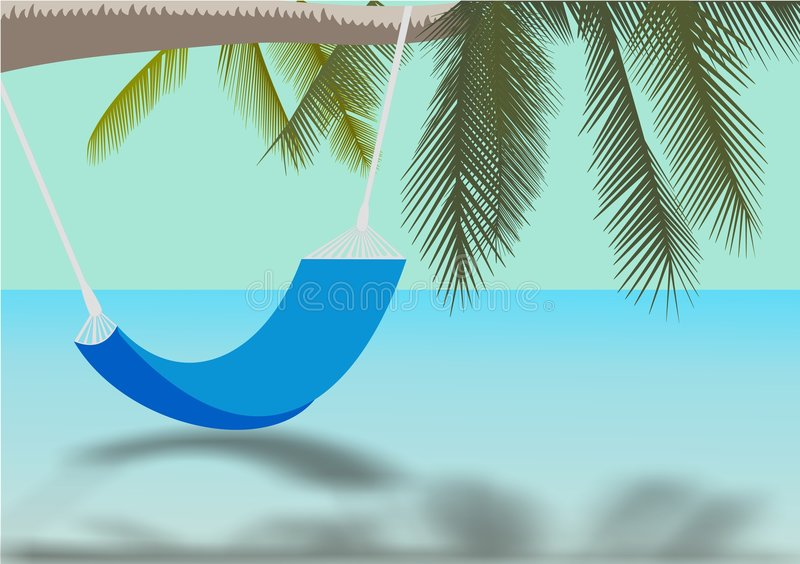 Paradise stock illustration