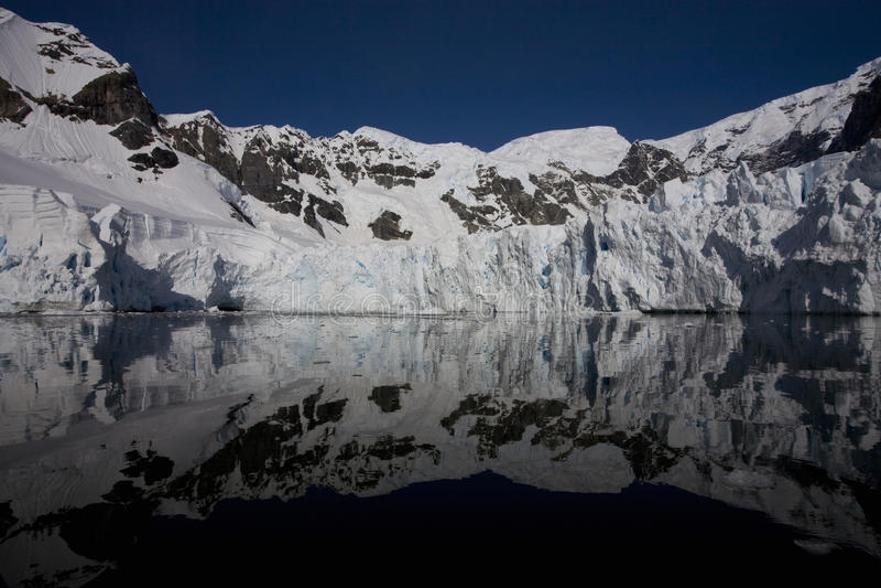 Paradise Bay, Antarctica. royalty free stock photos