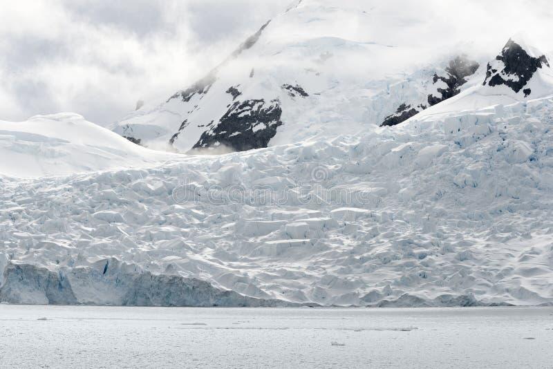 Paradise Bay, Antarctica stock photography