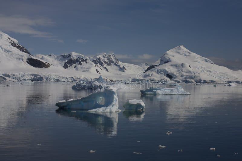 Paradise Bay, Antartica. stock photography