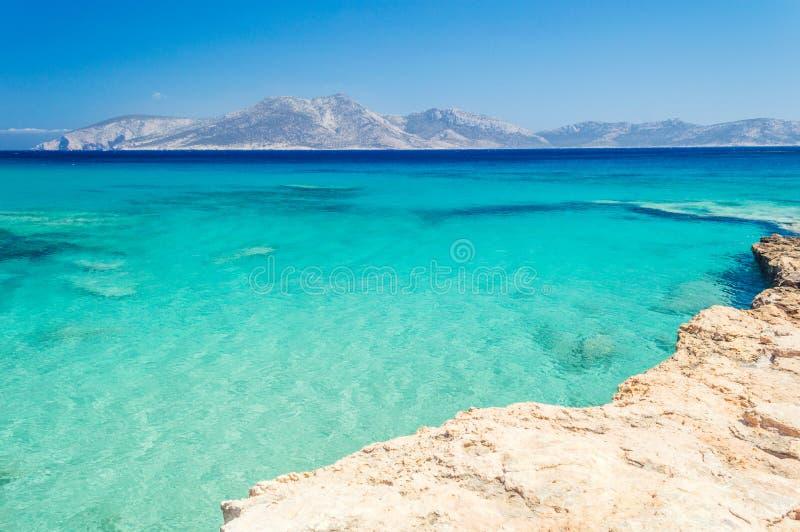 Paradise Beach On Koufonisia Stock Photo Image of scenery
