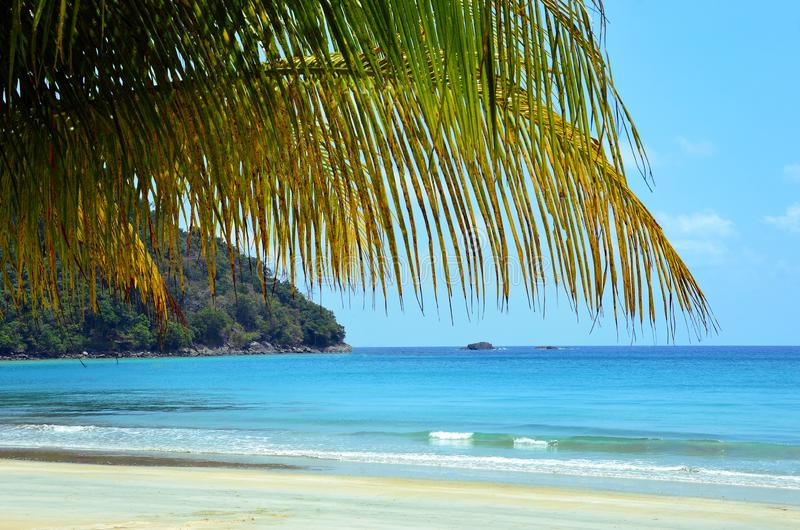 Paradise beach in Malaysia. royalty free stock images