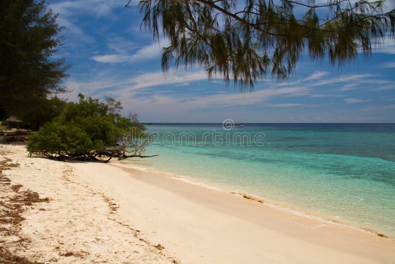Download Paradise Beach And Sea On Island, Gili Islands Stock Image - Image: 17541907