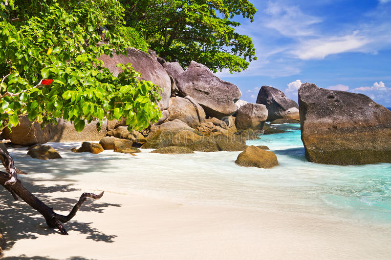 Download Paradise Beach With Turquoise Water Stock Image - Image: 27855569