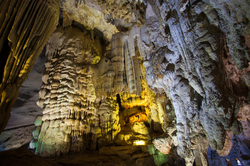 Paradise Cave, Unesco world heritage site stock images