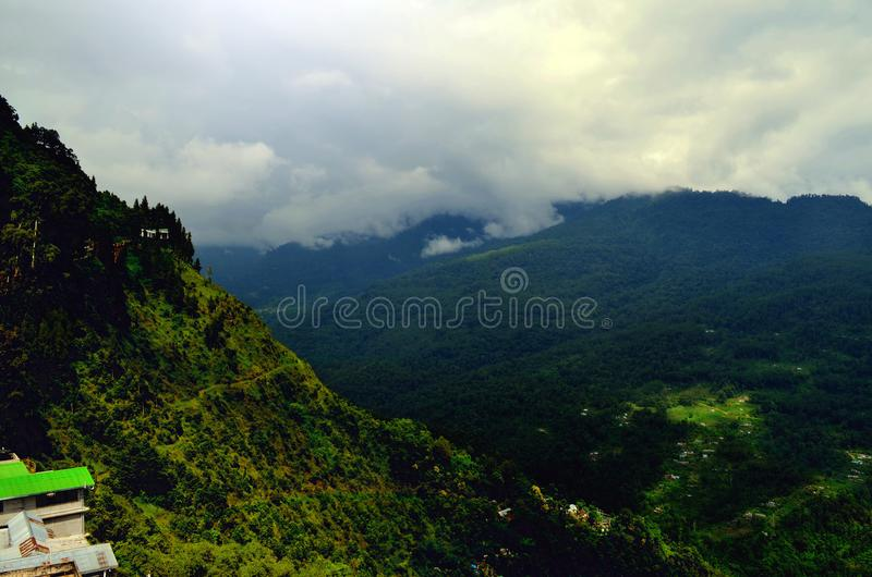 Paradise On Earth- Gangtok! royalty free stock images