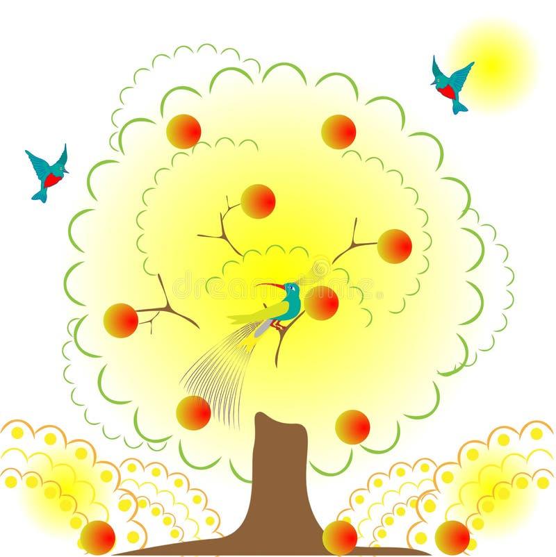 Download Paradise garden stock vector. Illustration of beauty - 11862280