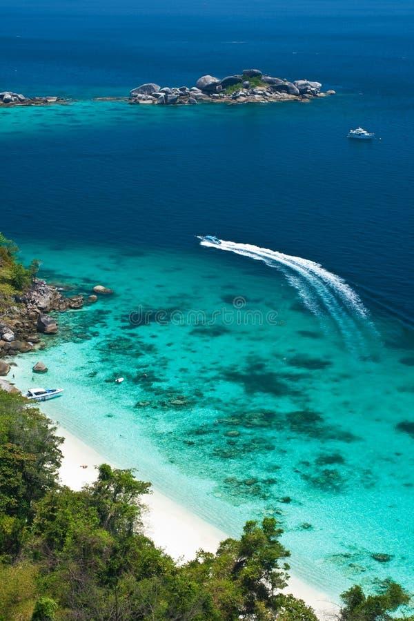 Paradise Island, Andaman Sea, Thailand stock photography
