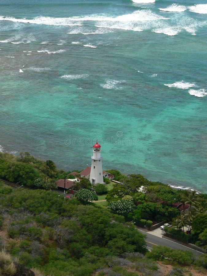 Paradise Lighthouse royalty free stock photos