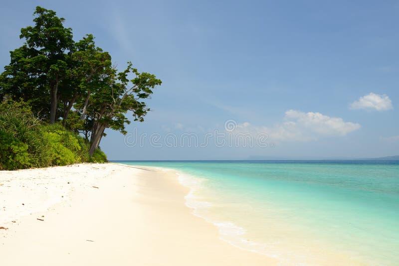 Paradise-Strand in Insel Andaman und Nicobar, Indien lizenzfreie stockfotografie
