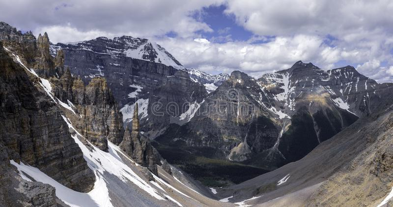 Paradise Valley en Grand Sentinel royalty-vrije stock foto