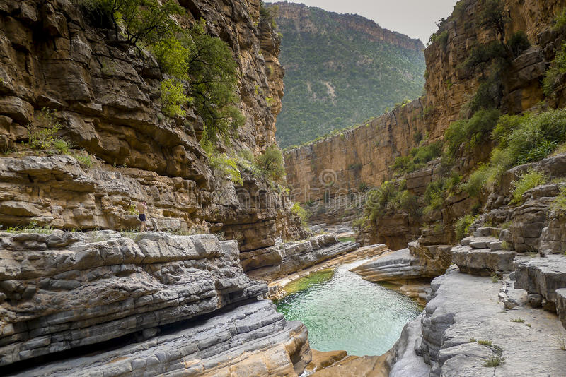 Paradise Valley, Morocco royalty free stock images