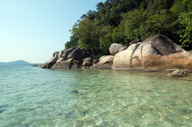 Paradiso dell'acqua fotografie stock