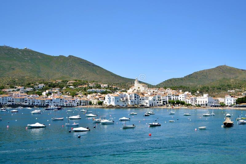 Paradiso mediterraneo del paesaggio tipico fotografia stock