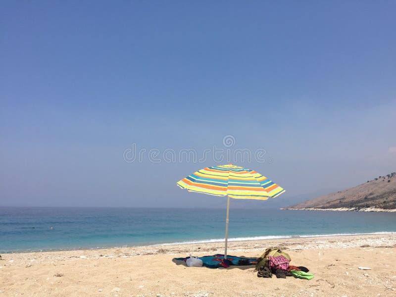 Paradiso nascosto della spiaggia immagine stock