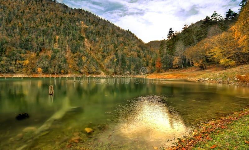 Paradiso nascosto; SULUKLU GOL - Lago Suluklu fotografia stock libera da diritti