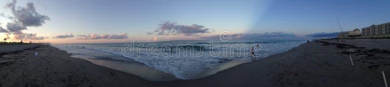 Paradiso panoramico fotografia stock