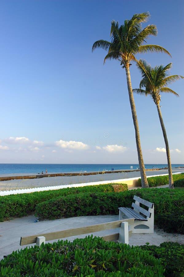 Paradiso tropicale della spiaggia fotografie stock libere da diritti